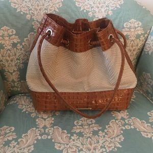 Brahmin Trina Drawstring bag